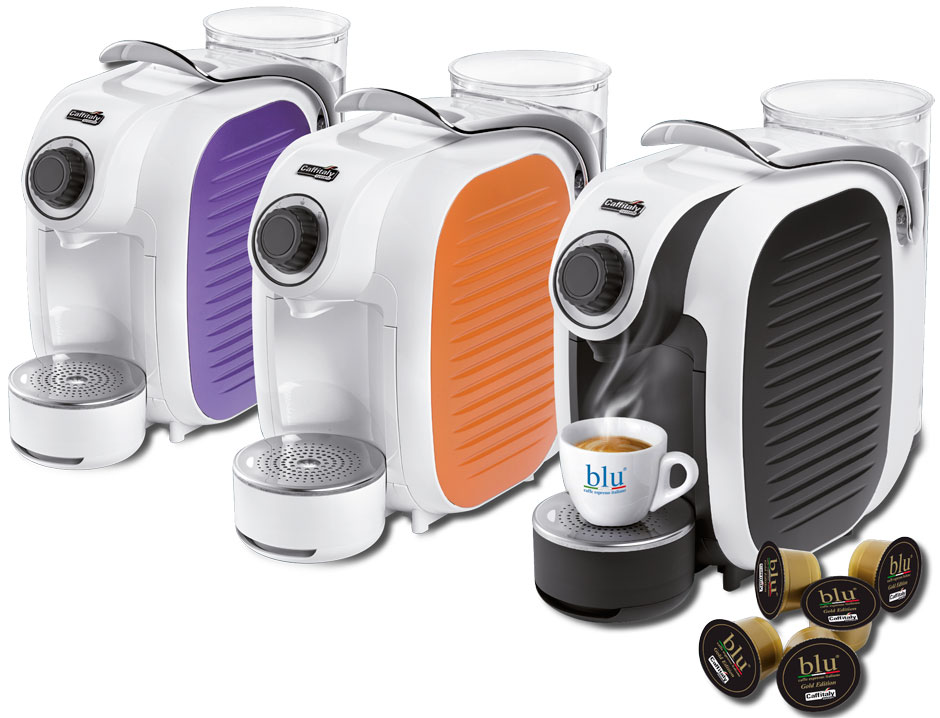S08 Caffitaly System espresso coffee machines capsules