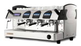 MARKUS 3 Boilers Display Control 2 GR, crem international, Automatic espresso coffee machine with 3 groups
